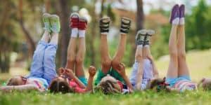 Kids with their feet in the air, Pediatric Foot & Ankle, Gilbert AZ