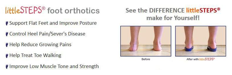 LittleSteps Foot Orthotics for Children