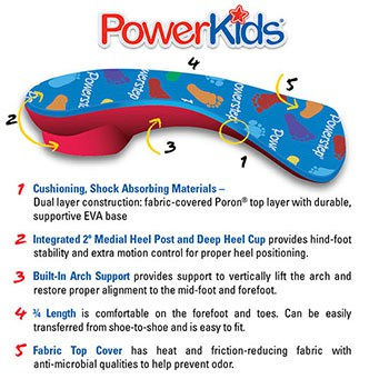 PowerKids Orthotics for Kids
