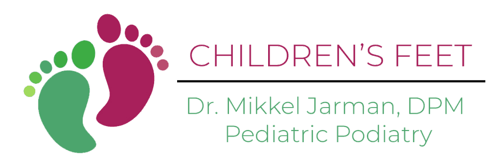 Children's feet logo, Pediatric Foot & Ankle, Gilbert AZ