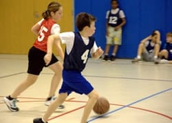 kids with heel pain hurts to play basketball and other sports