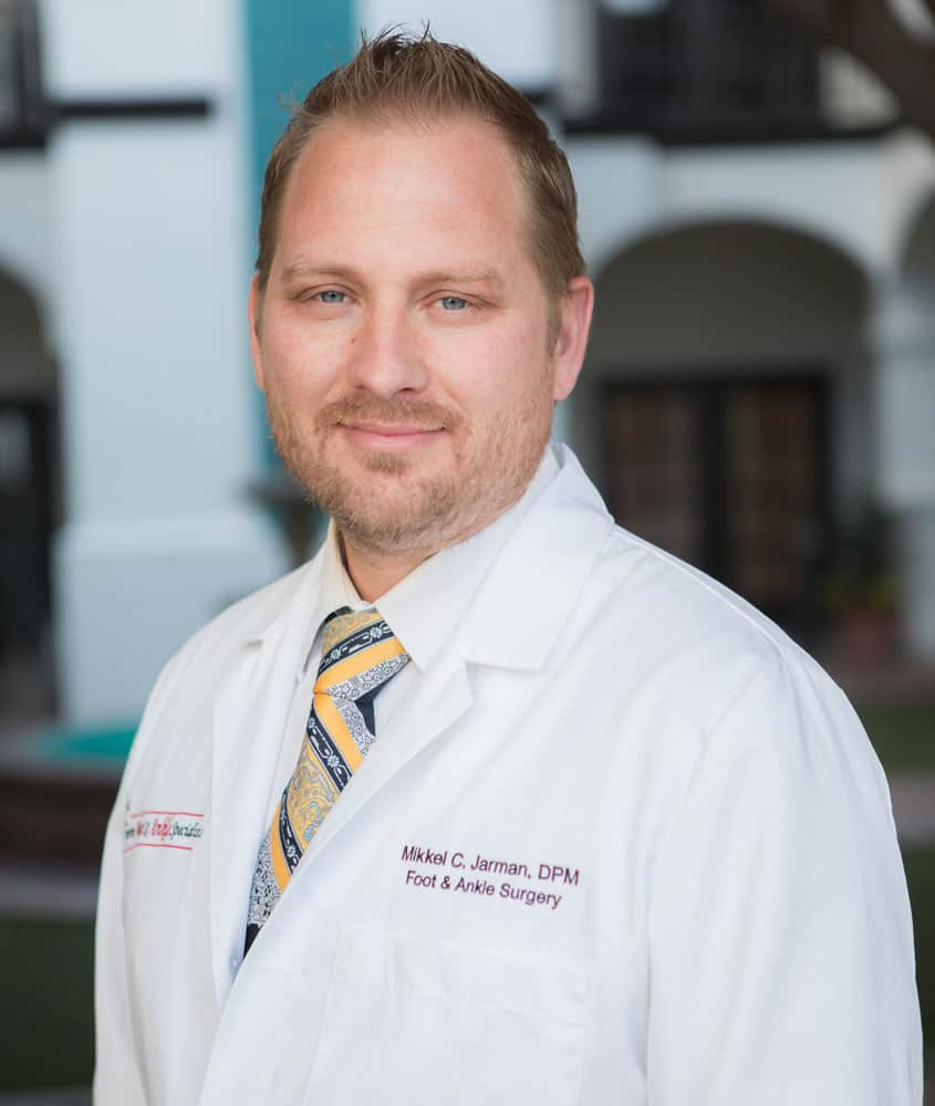 Dr. Mikkel Jarman pediatric podiatrist